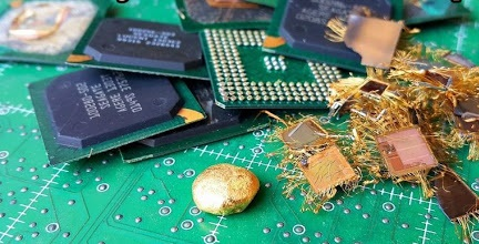 فلزات گرانبها قابل بازیافت